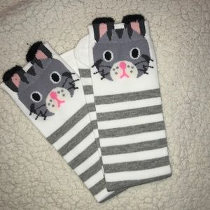 Funny Bunny Knee Socks